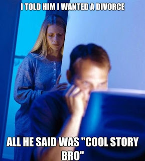 Cool story bro internet husband