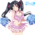 Tags: Render, Bikini, Black hair, Cheerleader, Cleavage, Erect nipples, High School DxD, Large Breasts, Long hair, Serafall Leviathan, Skirt, Twintails