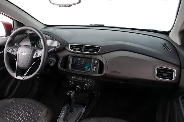 Novo Chevrolet Prisma 2017 - espaço interno