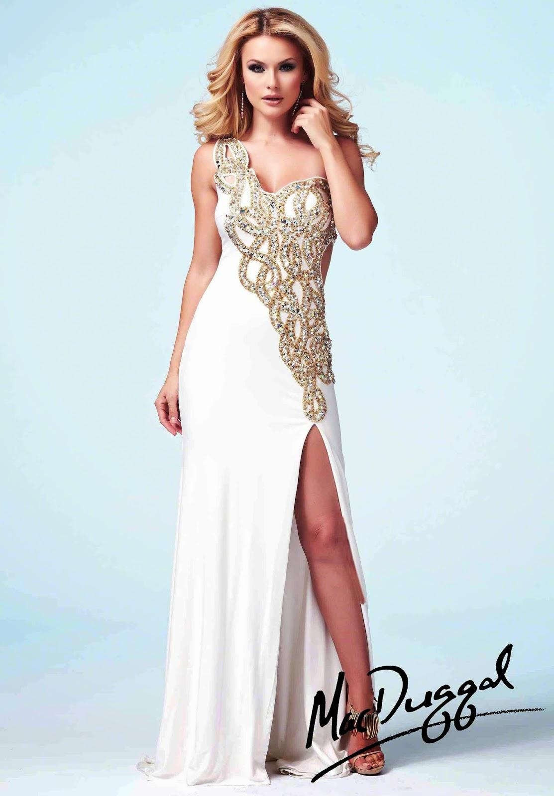 Espectaculares vestidos de gala elegantes