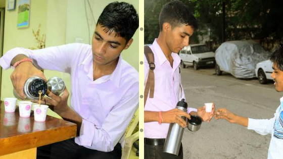 raghuveer sing, raghuveer sing success story, raghuveer chai wala, jaipur ke raghuveer, chai ka business, delivery boy start tea business