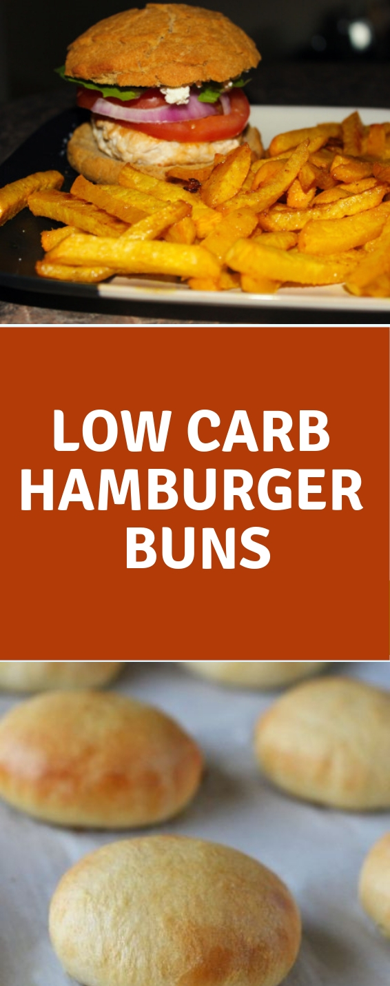 Low Carb Hamburger Buns