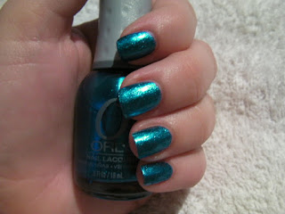 NOTD – Orly Sweet Peacock