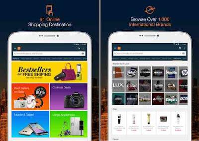 Install Aplikasi Lazada Android, Belanja Online banyak Diskonnya!