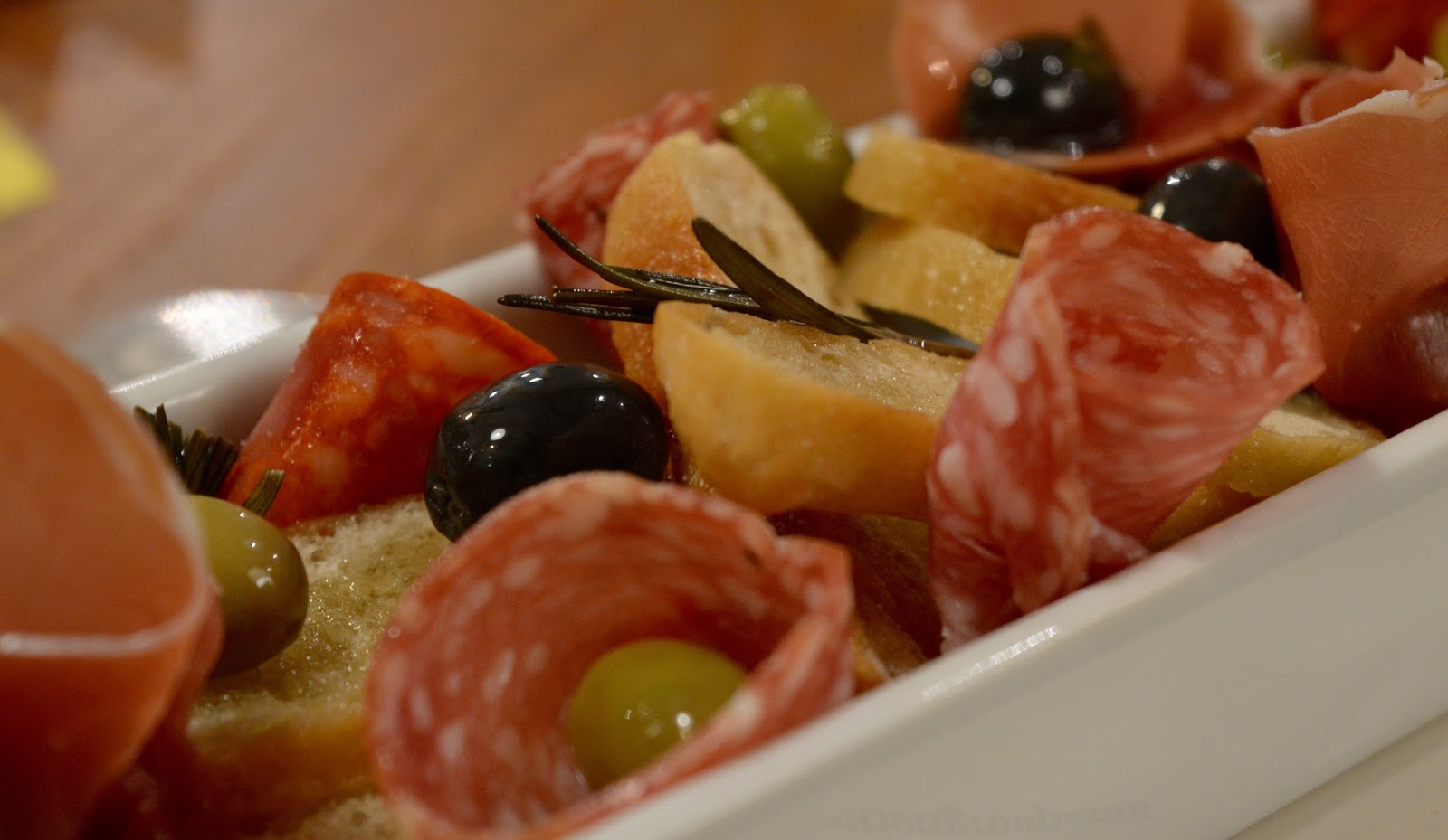 The Kingslodge Inn, Durham   A Review - A lovely budget hotel near the train station and city centre - Antipasto starter