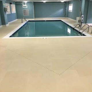 Greatmats hotel pool flooring wet area flooring Life Floor slate