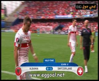 اهداف مباراة ألبانيا 0-1سويسرا بطولة بطولة أمم أوروبا 2016
