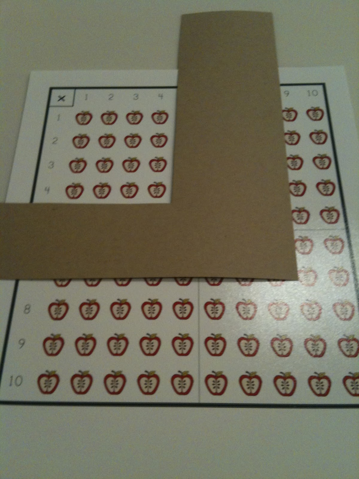Math Coach S Corner Array Models For Multiplication