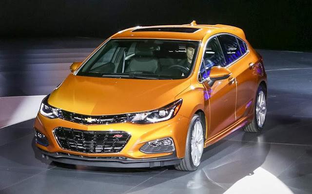 Novo Chevrolet Cruze Hatch 2017