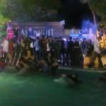 Ngeri Alumni SMA Negeri 3 Padang mengadakan pesata mandi bareng di kolam renang