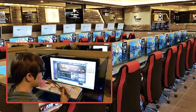 internet cafe coreano cibercafe corea