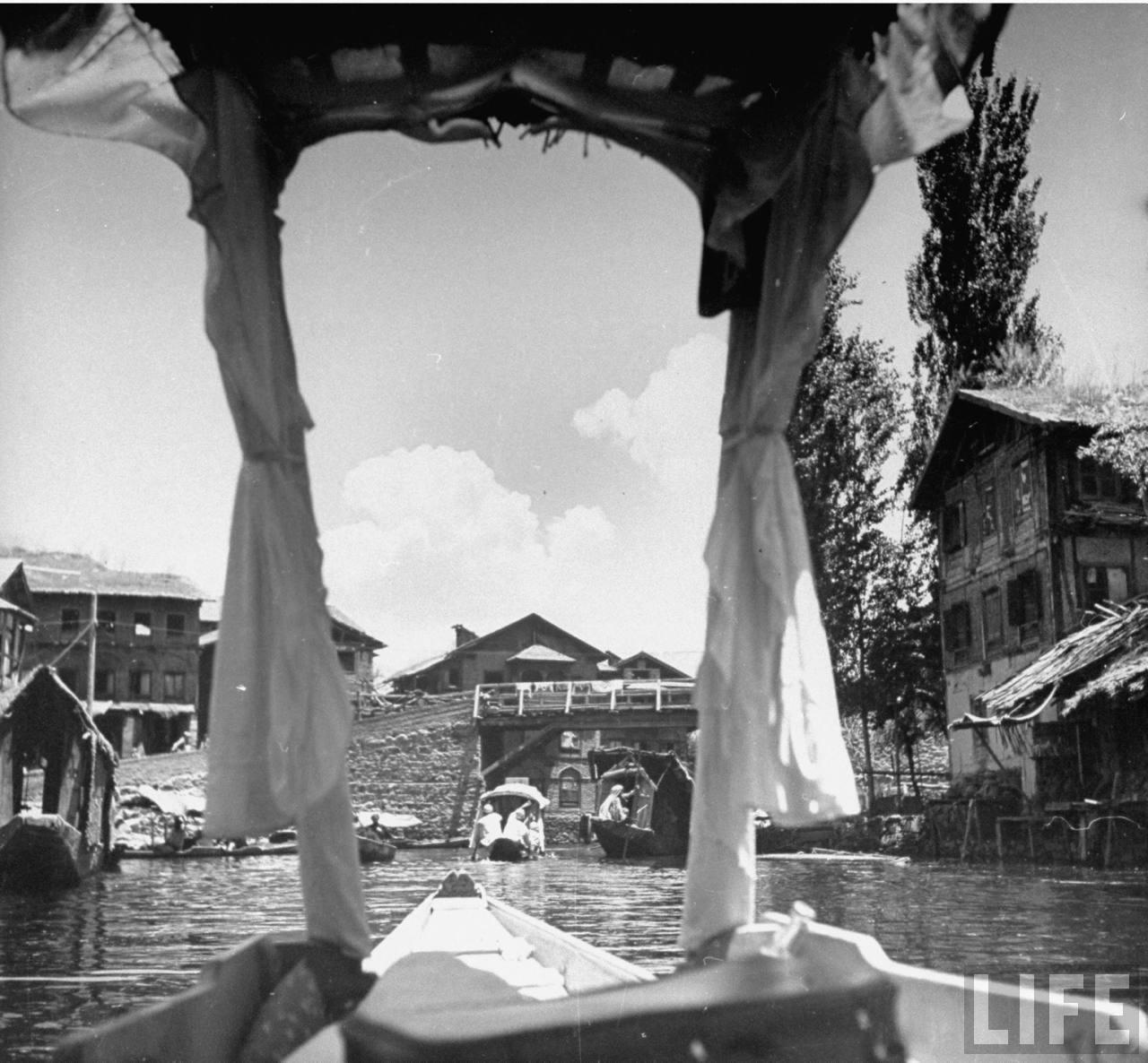 boat ride in Kashmir - 1943