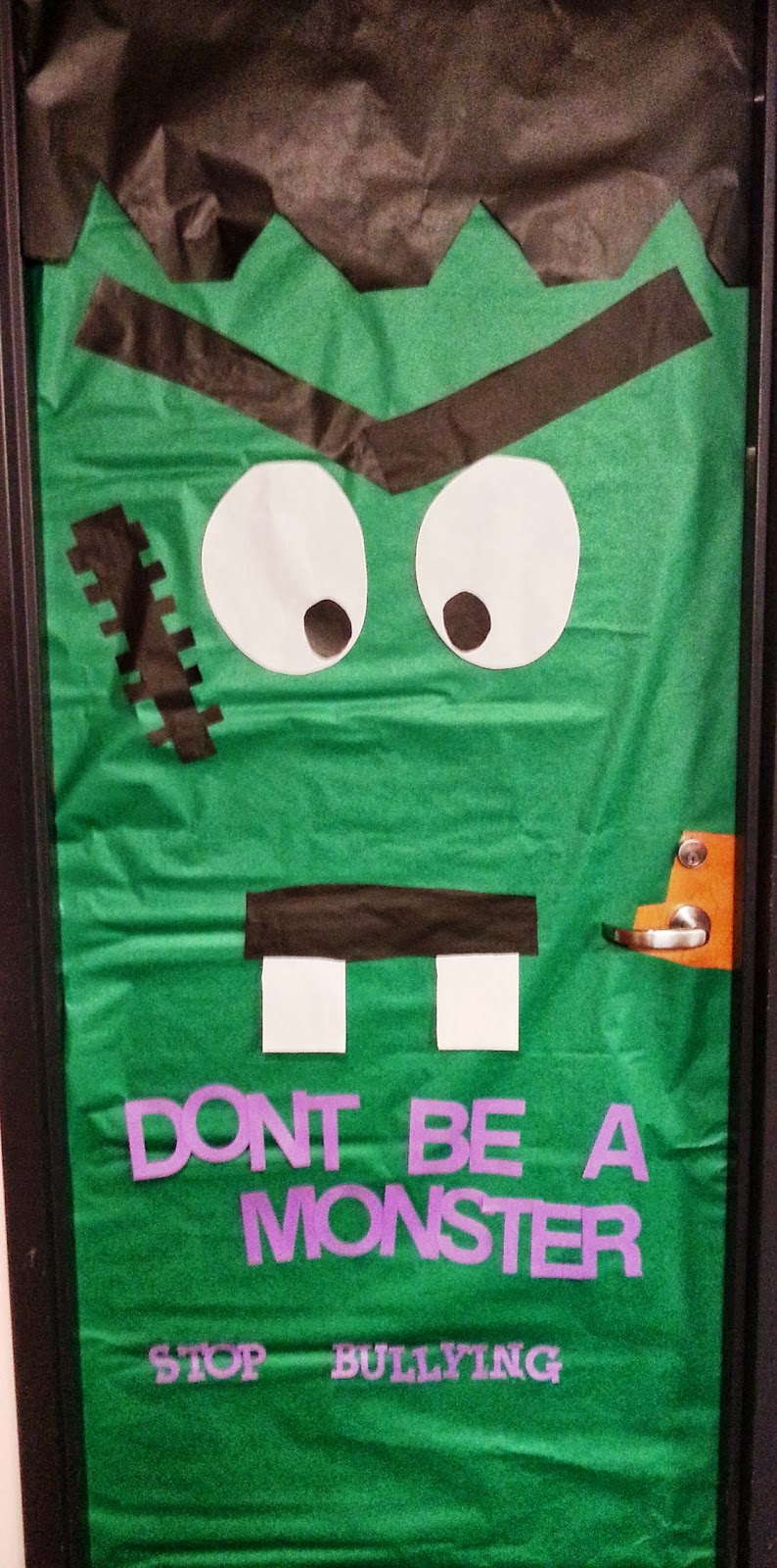 Teacher Training at G.E.H.S.: Halloween/Fall Door ...