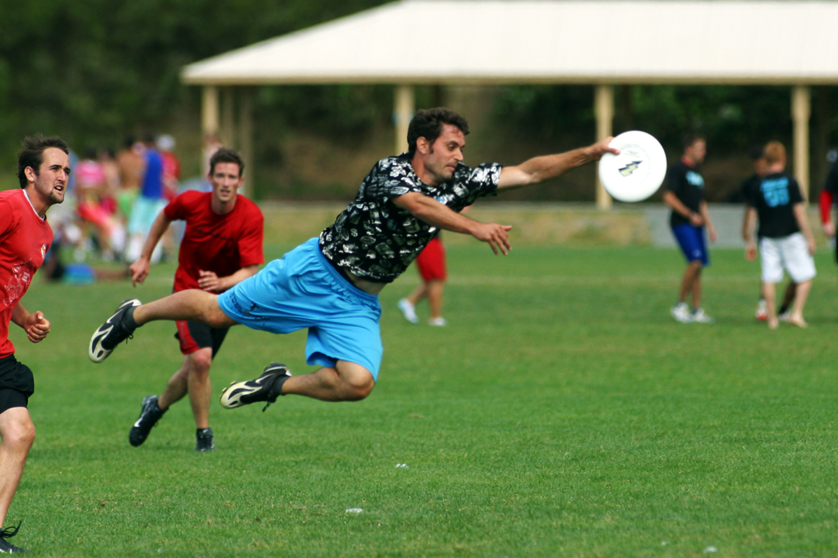 the other paper: Ultimate Frisbee one step closer to being ...