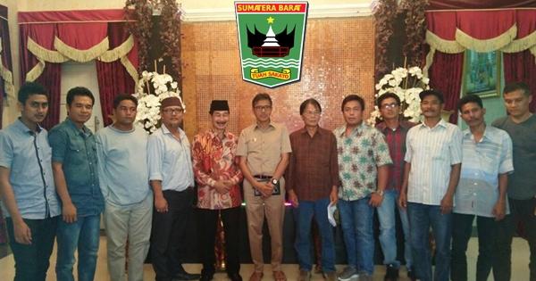Gubernur Irwan Prayitno Terima Aspirasi Pengusaha Pasir