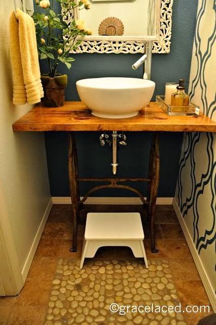home garden 60 id es pour recycler vos vieilles machines coudre. Black Bedroom Furniture Sets. Home Design Ideas