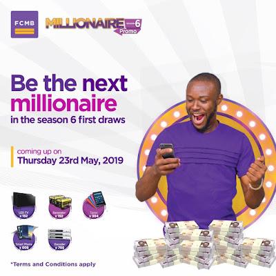 Win Big in Fcmb Millionaire Promo Season 6