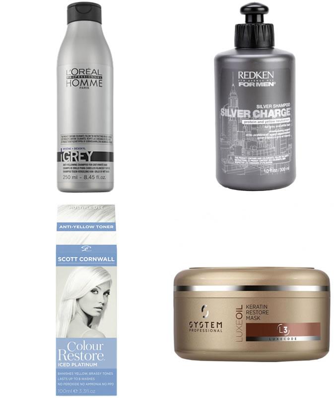 Produtos de cabelo platinado para homens Calitta Blog
