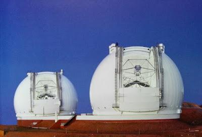 Telescopios gemelos Keck