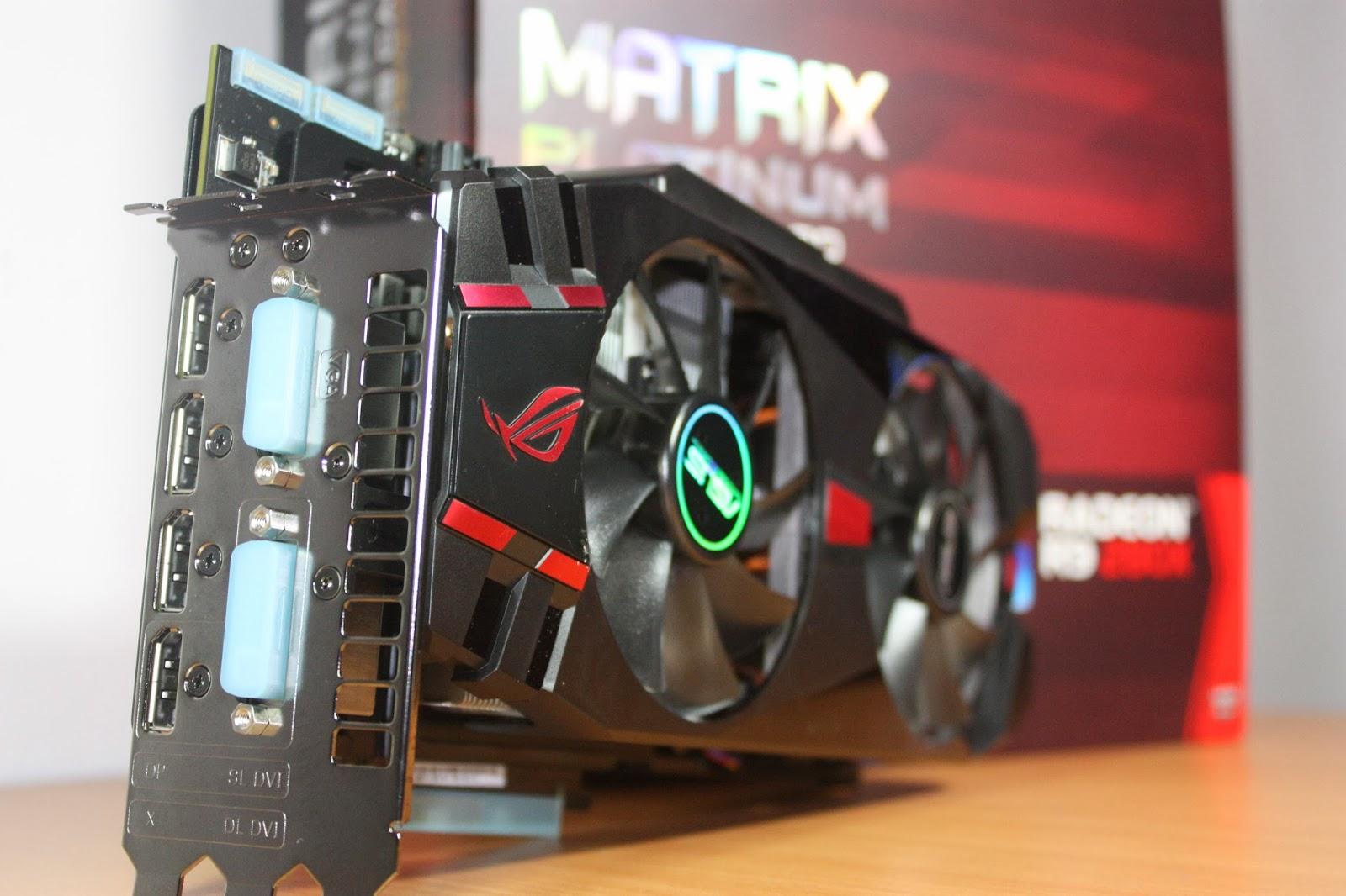 Graphics: [IMAGE HEAVY] Photoshoot of the ASUS Radeon R9 280X Matrix