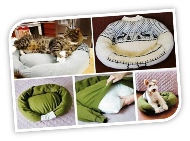 Enrhedando manualidades - Como hacer una cama para perro ...