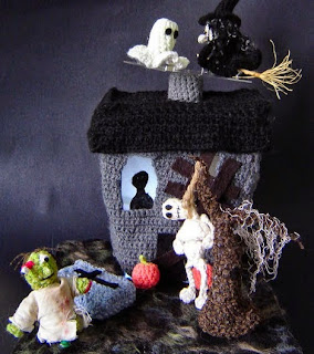 http://www.instructables.com/id/Crochet-Haunted-House/