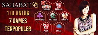 7 Games Judi Online di Dalam 1 Website Hanya di situs Sahabatqqasia.com