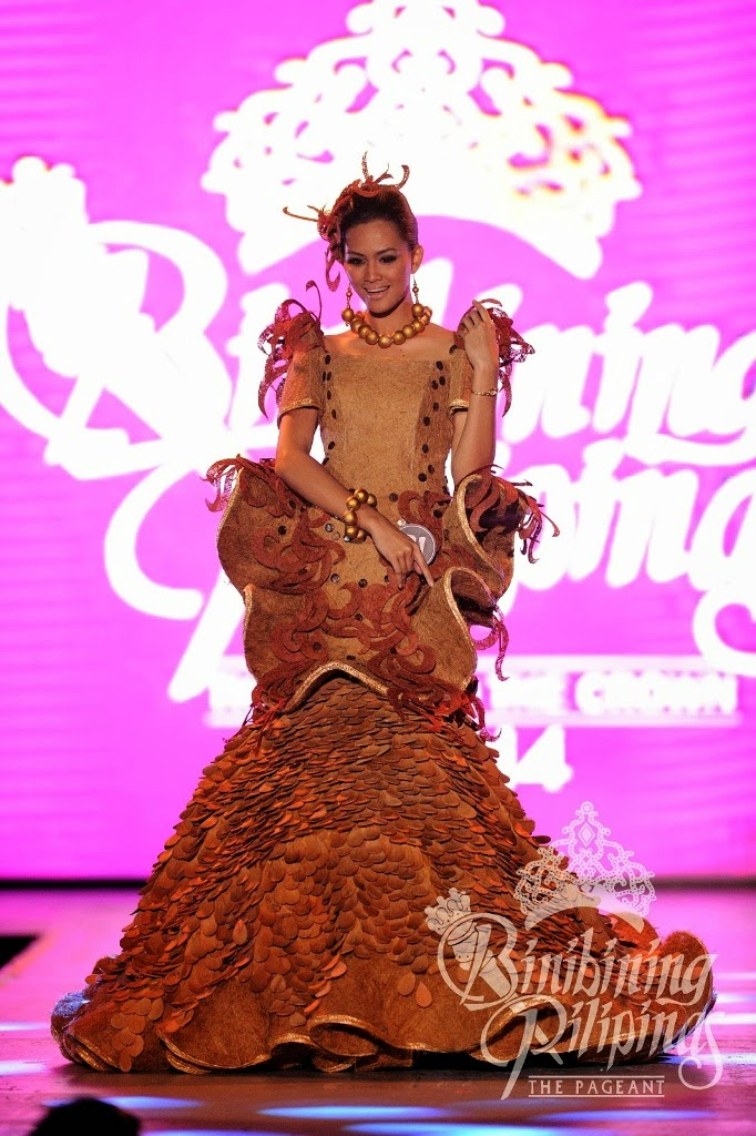 Binibining Pilipinas 2014 Candidates in their National Costumes