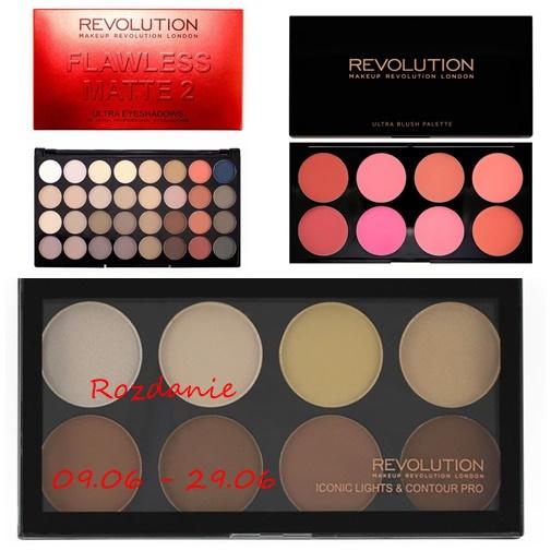 Wygraj paletkę Makeup Revolution!