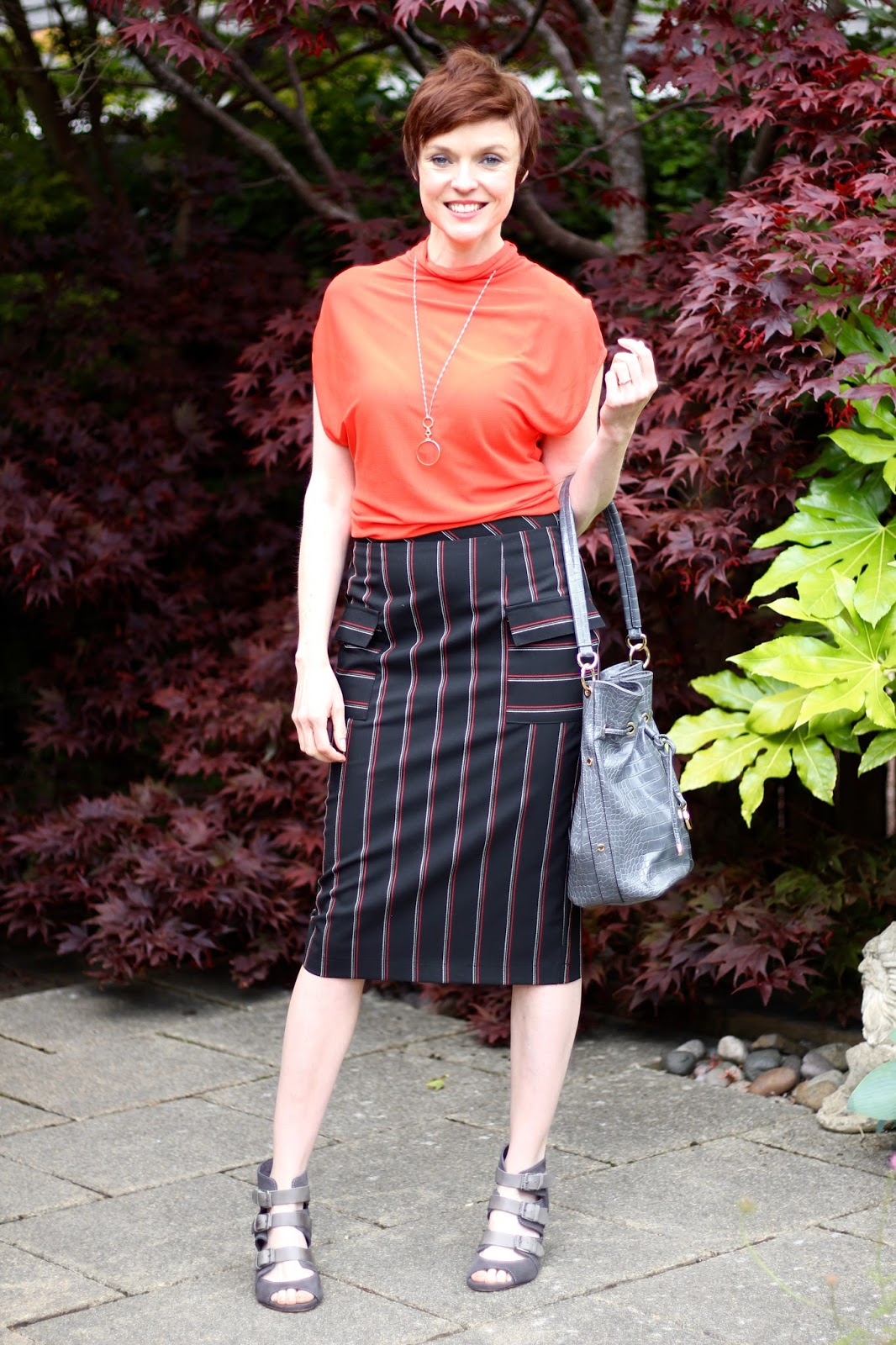 Black & Red for a Summer Work Look | Fake Fabulous