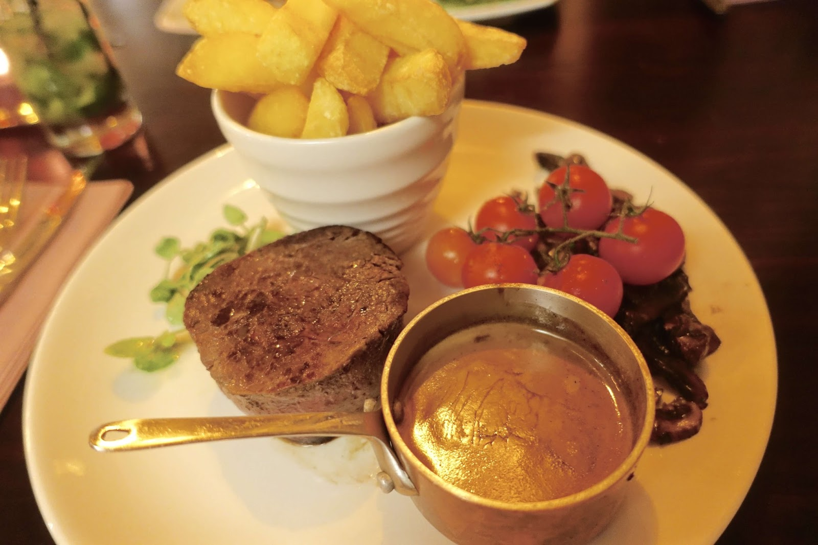the bear oxshott foodie review