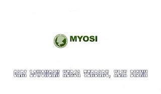Lowongan Kerja PT Myosi International Bogor