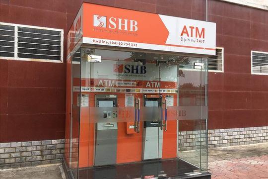 Cây ATM bị gài mìn