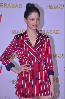 Tamannah Bhatia Exclusive in Red Blazer and Red Shorts Spicy Pics ~  Exclusive 050.JPG