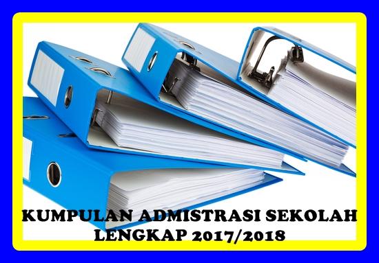 Download Kumpulan Administrasi Sekolah Versi 2017/2018