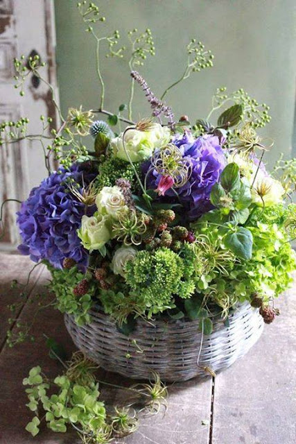Cottage Flavor Rustic Summer Flower Arrangements
