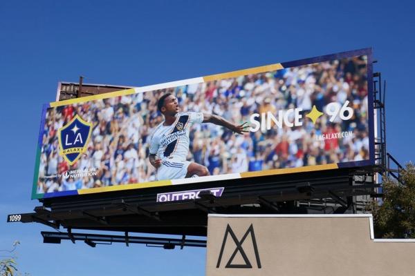 LA Galaxy soccer billboard 2019