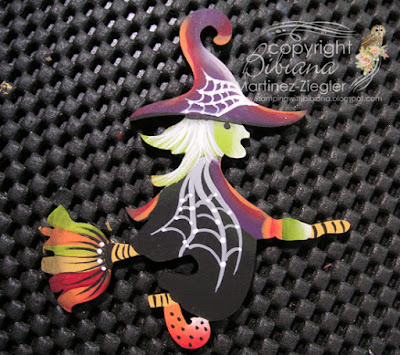 witch hat pin finished