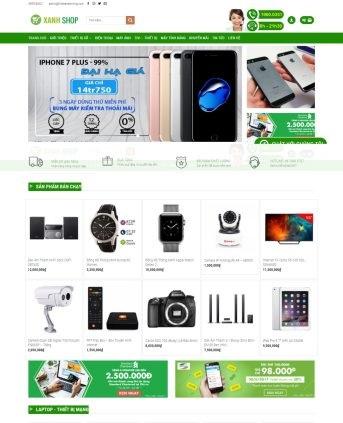 MẪU BÁN HÀNG 038 - shop smart phone