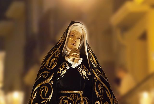 La Dolorosa es el paso más antiguo de Pamplona