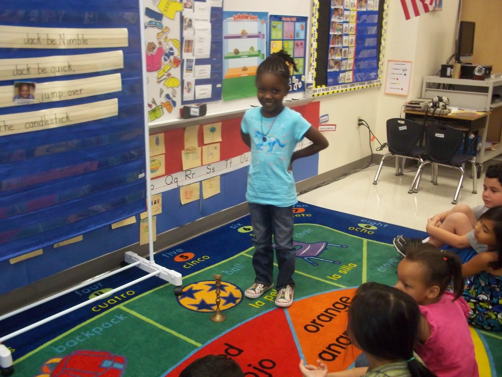 Mrs Wood S Kindergarten Class Jack Be Nimble