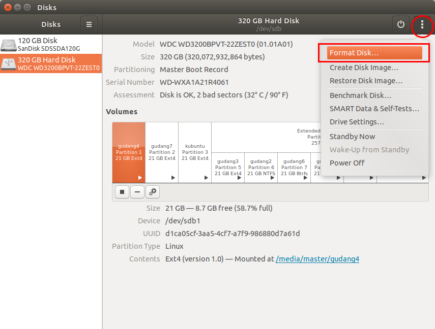 Ubuntu Buzz !: Quick Guide to The Awesome GNOME Disk Utility