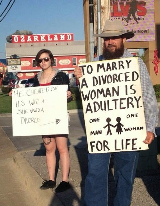 Marrying a divorced woman