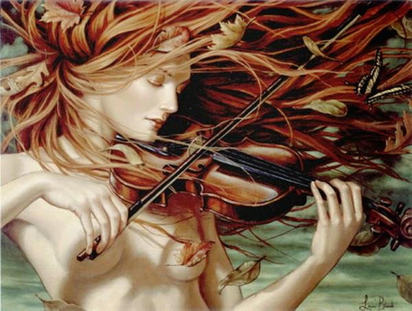 Outono - Lauri Blank e suas pinturas cheias de emoções