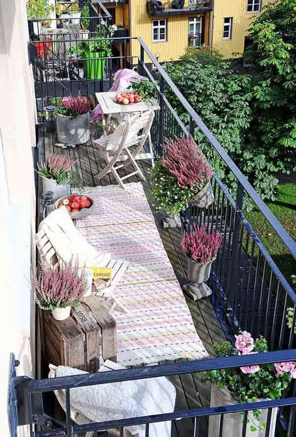 Decoration of balconies for all tastes | lasthomedecor.com 1