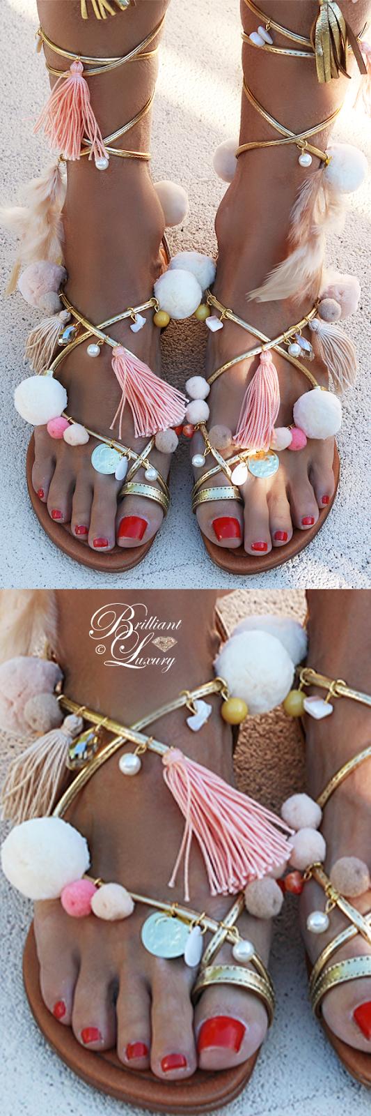 Brilliant Luxury ♦ Alameda Turquesa Aurora sandals