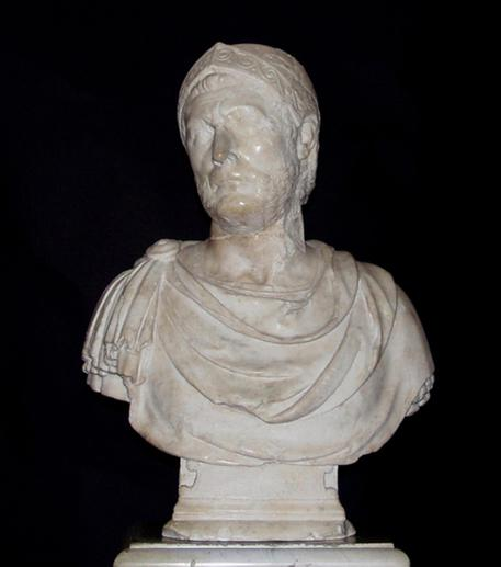 Bust of Hannibal on display at Bardo in Tunis