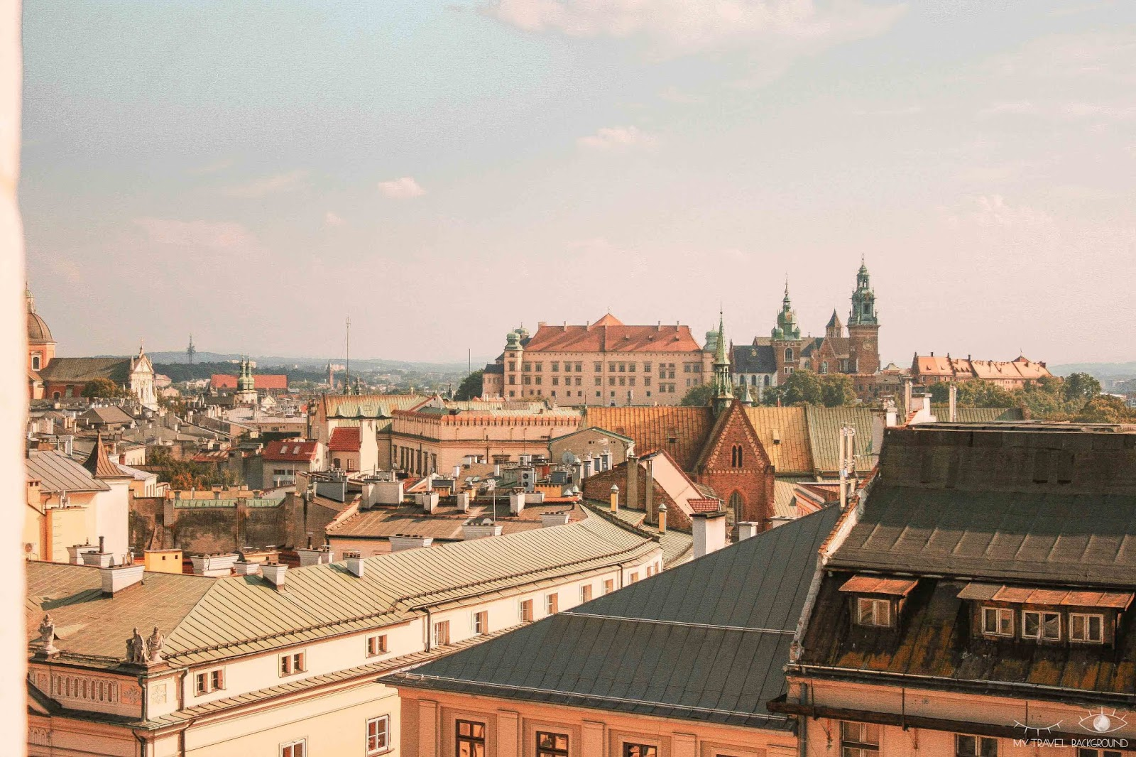 My Travel Background : Cracovie en Pologne, mon top 10 pour visiter la ville - Château du Wawel