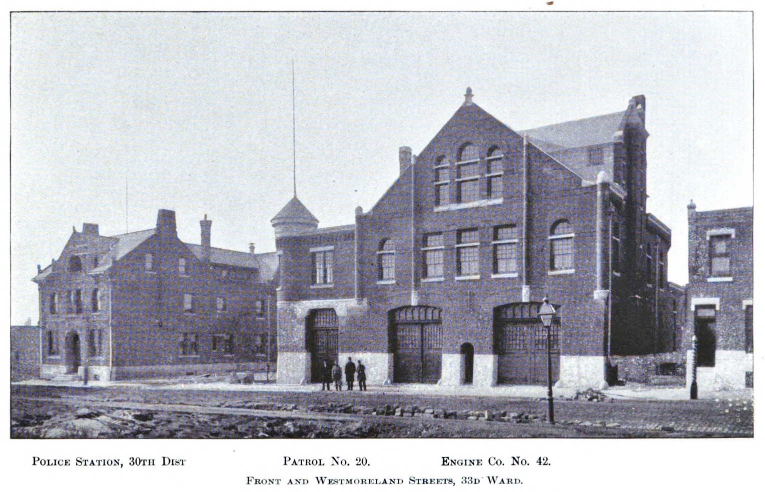 Philly Stuff Engine 42 Patrol No 20 Police Station 30th Dist Front And Westmoreland Sts