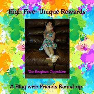 Blog With Friends, a multi-blogger project based post incorporating a theme, High Five Day | High Five - Unique Rewards by Juses of The Bergham Chronicles | Featured on www.BakingInATornado.com